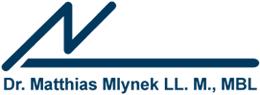 Dr. Matthias Mlynek, LL. M., MBL - Logo